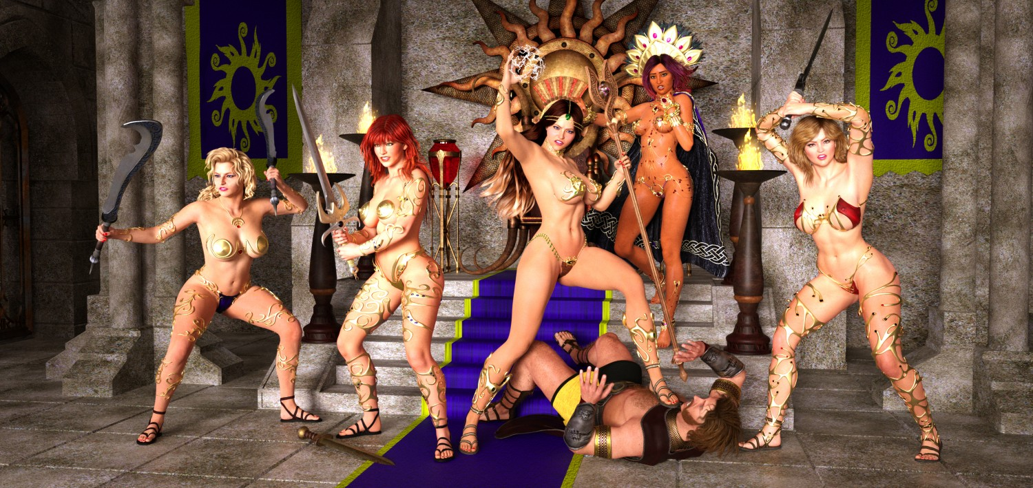 Barbarians pirate sexual movie erotic actresses